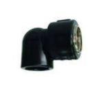 HDPE Fusion Brass Female Threaded Elbow 90o