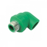 PP-R Brass Male Threaded Elbow 90o
