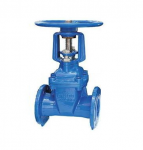 Rising Stem Resilient Seated Gate Valve with Wheel
