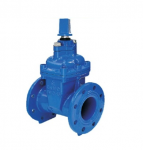 Non-Rising Stem Resilient Seated Gate Valve with Cap