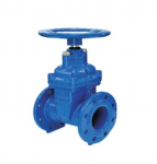 Non-Rising Stem Resilient Seated Gate Valve with Wheel