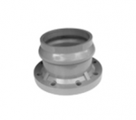 Flange Socket with Rubber Ring